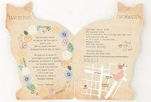 wedding invitation オーダーやセミオーダーも承っております! / miidesign のウェディング招待状