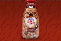 Coffee-Mate Star Wars / Chase made the beloved characters and details of the Star Wars story central players in the drama of morning coffee. Bringing the key Star Wars heroes and villains to life on a range of Coffee-mate flavors set the stage for back panel trivia, customized UPC codes and other fan favorite details.