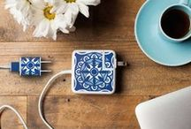 Moroccan & Majolica / Moroccan, Majolica, Azulejos... whatever the style, we're loving these tiles!
