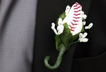 Baseball Wedding / You're in love with a real catch! Show your love (and delightful quirkiness) with touches of baseball in your wedding and engagement..