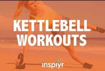 Kettlebell Workouts / Everything you need to know about kettlebell workouts! From beginners to advanced these kettlebell exercises are for everyone!