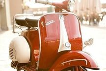 """--V: Vespas / Fun To Ride And Easy On Gas. This Could Be Your """"Second Car"""". / by Garry Garrison"""
