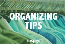 Organizing Tips / From clutter around the home to just planning your day, it's hard to get things organized. But we're here to help with these organizing tips.
