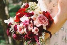 Inspired Wedding Florals / by Rosalyn at Once Wed