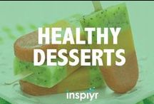 Healthy Desserts / Cookies and cakes don't have to be the enemy! Here are some deliciously healthy desserts.
