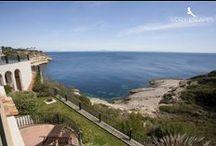 Casas con sabor Mediterráneo - #LuxuryVillas / Espectaculares #VillasDeLujo con un aire mediterráneo