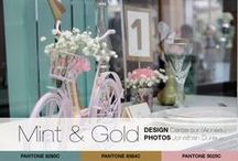 |SHOOT]   Mint & Gold / Mint & Gold inspiration - Inspiration de mariage Mint & Gold