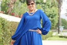 M6964 top my way! / New twist on a threadz favorite! Blue how do I love thee? Let me count the ways!