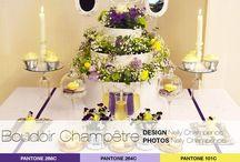 |SHOOT]   Boudoir Champêtre / Complementary colours inspiration - Inspiration de mariage couleurs complémentaires