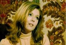 """People: DIANA RIGG / The most beautiful woman. Ever. [See also: """"007: OHMSS"""", """"Film: ASSASSINATION BUREAU"""", """"TV: Avengers, The"""" / by Mark McGuire"""