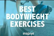 Best Bodyweight Exercises / Too busy to get to the gym? Have no fear! Here are the best bodyweight exercises you can do from the comfort of your living room.