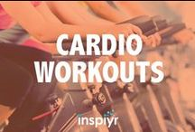 Cardio Workouts / Get your heart rate pumping with these calorie burning cardio routines!