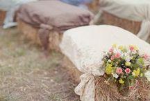 [STYLE] Champêtre / Décoration de mariage champêtre
