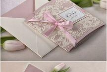 pink and brown  vintage wedding