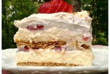 Desserts - Layered, Parfaits & Trifles