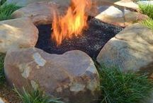 In the Garden - Fire Pits & Barbecue Grills... etc.