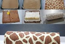 Cakes - Roll-ups and Fun-Shapes