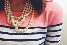 Preppy Pearls and a Southern Girl. / by Brooklyn Sealey
