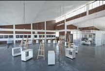 Artists studios / I've just built a studio for art lessons. This is why i've been researching art studios. Check my studio out. www.brightday.co.za