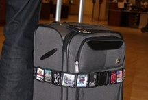 Stand out when you use indeegear®  / Tired of using ribbons, duct tape and other sorts of things to find your luggage, backpack or other bag? Use the indeegear® collectible luggage belt and sleeve system to stand out. #gift #souvenir #valentine #birthday #christmas #travel