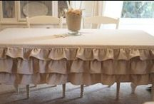 Table cloth, placemats and runners (tovagliette,  tovaglie e runners)