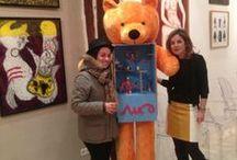 Welcome to Paris / Obrazy trzech artystów, którzy są pod skrzydłami Galerii Art Pistols, poleciały 21.11.2013 r. do Paryża do  Galerie 55Bellechasse na międzynarodową wystawę.  Jesteśmy dumni i szczęśliwi. To ogromny sukces.