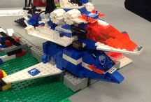 LEGO at the Library / Some of the creations from our drop-in LEGO program. Georgetown Branch Tuesdays 3:00-5:00 and Acton Branch Thursdays 3:00-5:00