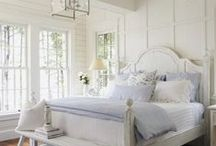 Dream Guest Bedroom / guest bedroom ideas, calm bedroom, peaceful bedrooms, white bedroom decor, shabby chic bedroom ideas. Bedroom ideas. Bedroom Inspiration