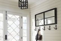 Dream Entrances / Foyer / front hall decorating, home foyer ideas, entry way decor ideas. Entry Inspiration. Hall inspiration. Hall ideas. Entry ideas. Foyer inspiration, Foyer ideas.