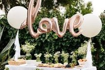 Bridal Shower Ideas & Inspiration / Creating memories for the bride.