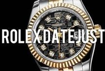 Rolex Datejust / A curated collection of men's style photos inspired by the iconic Rolex Datejust watch.