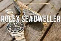 Rolex Sea-Dweller / A curated collection of photographs inspired by the Rolex Deep Sea and Sea Dweller.