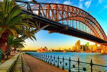 Favourite places / <3 Sydney & London