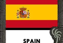 Spain - Places to See, Recipes + Things to Do! / This board celebrates SPAIN and includes our #indeegear sleeve with the country flag for your #luggage while traveling or for use on other #bags and #backpack. This board also includes #recipes #travel tips #destinations #photos #gift #ideas and #quotes -- #funny and #inspirational! Enjoy!