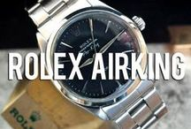 Rolex Air-King / A curated collection of mens style photography inspired by the Rolex Air-King.