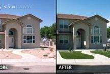 Before and After's / See how SYNLawn Bay Area can transform your ordinary outdoor living space into an oasis!