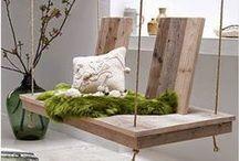 Ideas Diy con Palets / Ideas de decoracion que puedes hacer tu mismo con maderas recicladas de palets