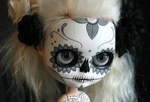 Day of the dead / Day of the dead dolls, makeup, illustrations, inspiration.