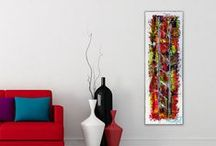 Etsy paintings / All the paintings I'm selling on Etsy.  Abstract Paintings by Michael Lønfeldt.