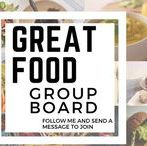Great Food / This board is for sharing ideas about delicious food with great looking photos. New members are welcome to collaborate. Spam will not be tolerated (I do check ;)) .Make sure to repin once for every pin you save to the board.If you want to be a member follow me and send me a message :)