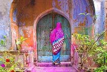 India / India is een kleurrijk land met een levendige cultuur en verborgen schatten zoals de Taj Mahal. Kortom incredible India!