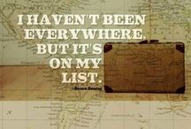 Travel quotes / Laat je inspireren door de travel quotes and let's go!