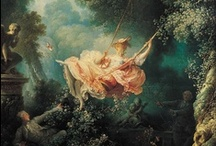 Rococo / Great dresses, big hair with a lot of curls and the jewelry full of gems, pearls and cameos.