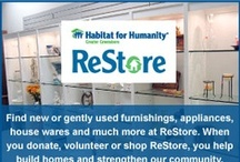 Treasure Inside (The House) / Reusing many products sold at Habitat's Restore is a great way to take part in the Green initiative and donate to Habitat for Humanity!