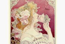 Art Nouveau / Art nouveau inspiration.