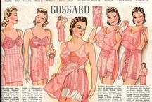 Vintage lingerie / High waisted, polka dots, underdresses and above all: classy.