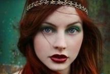 Bohemian Beauty / Bohemian influences in beauty and fashion.