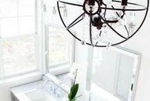 Home Ideas - Bedrooms & Bathrooms. / Home Ideas for your master bedroom, guest bedroom, nursery, children's rooms. | Master bathroom | Guest bathrooms | Extra bathrooms | Kids bathrooms | Closets | Bedroom renovation | Bedroom inspiration | White bedroom | Bathroom renovation } Bathroom inspiration | White bathroom | Marble sinks | Tile shower | Cozy bedroom | Modern bedroom | Classic bedroom |