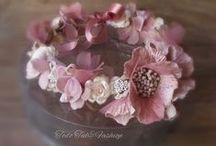 coronas de flores,gorritos y diademas