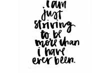 self improvement / healthy living